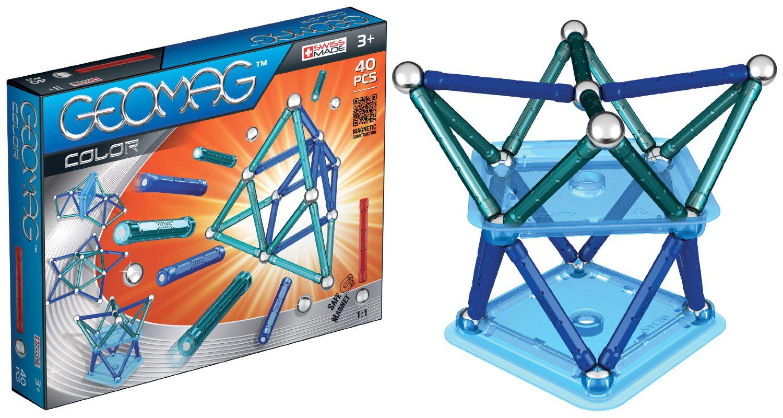 Jeu de construction Geomag Color - 40 pièces