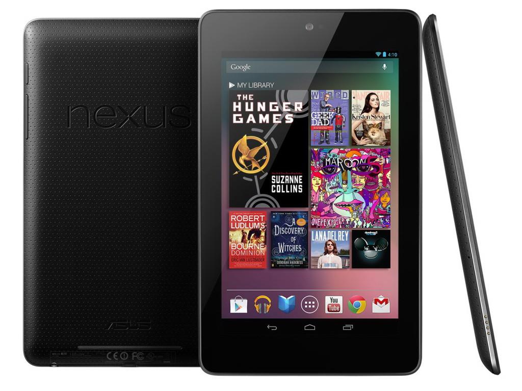 Tablette Google Nexus 7 (2012) Wi-Fi - 16Go - Reconditionné / Port inclus