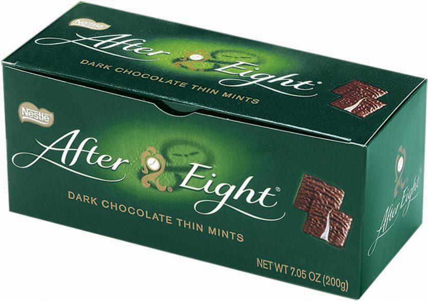 Chocolats After Eight Noir Intense (30% sur la carte + coupon de 1€)