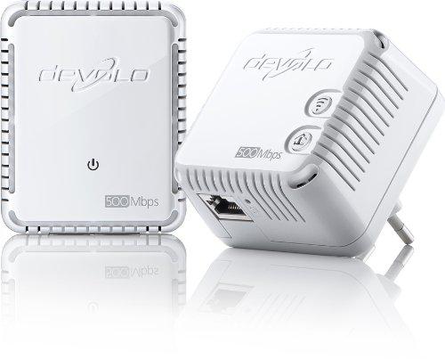 2  Adaptateurs CPL - Starter Kit devolo dLAN 500 WiFi