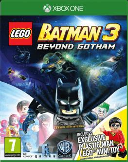 Lego Batman 3 - Au-delà de Gotham avec minifigurine sur Xbox One