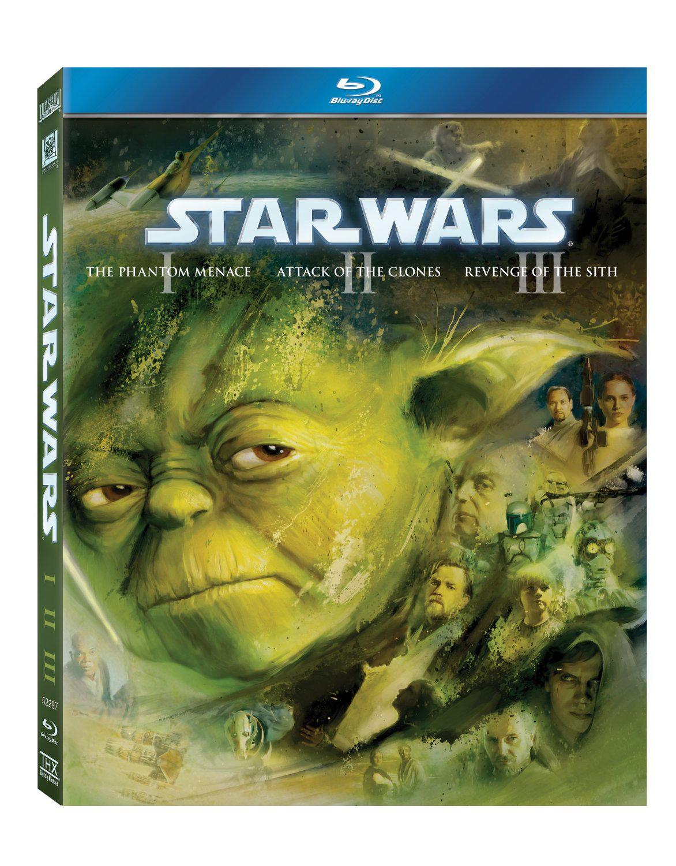 Coffret 3 Blu-ray  - Star Wars Prélogie Ep. 1 à 3
