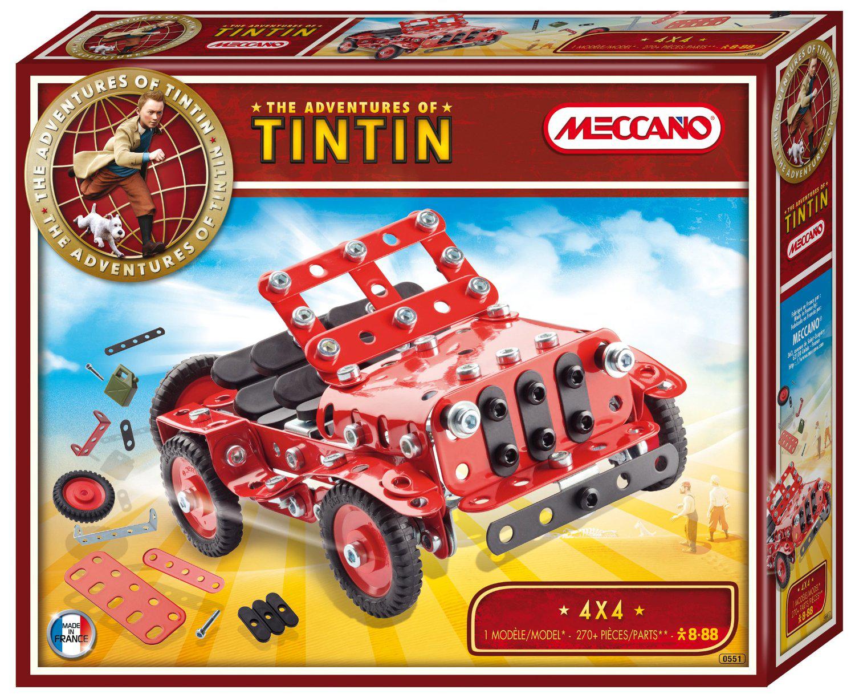 Jeu de Construction Meccano 4X4 - Collection Tintin
