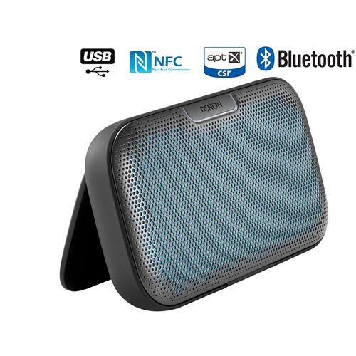 Enceinte Nomade sans fil Bluetooth Denon Envaya, DSB 200, Noire, NFC (ODR 20€)