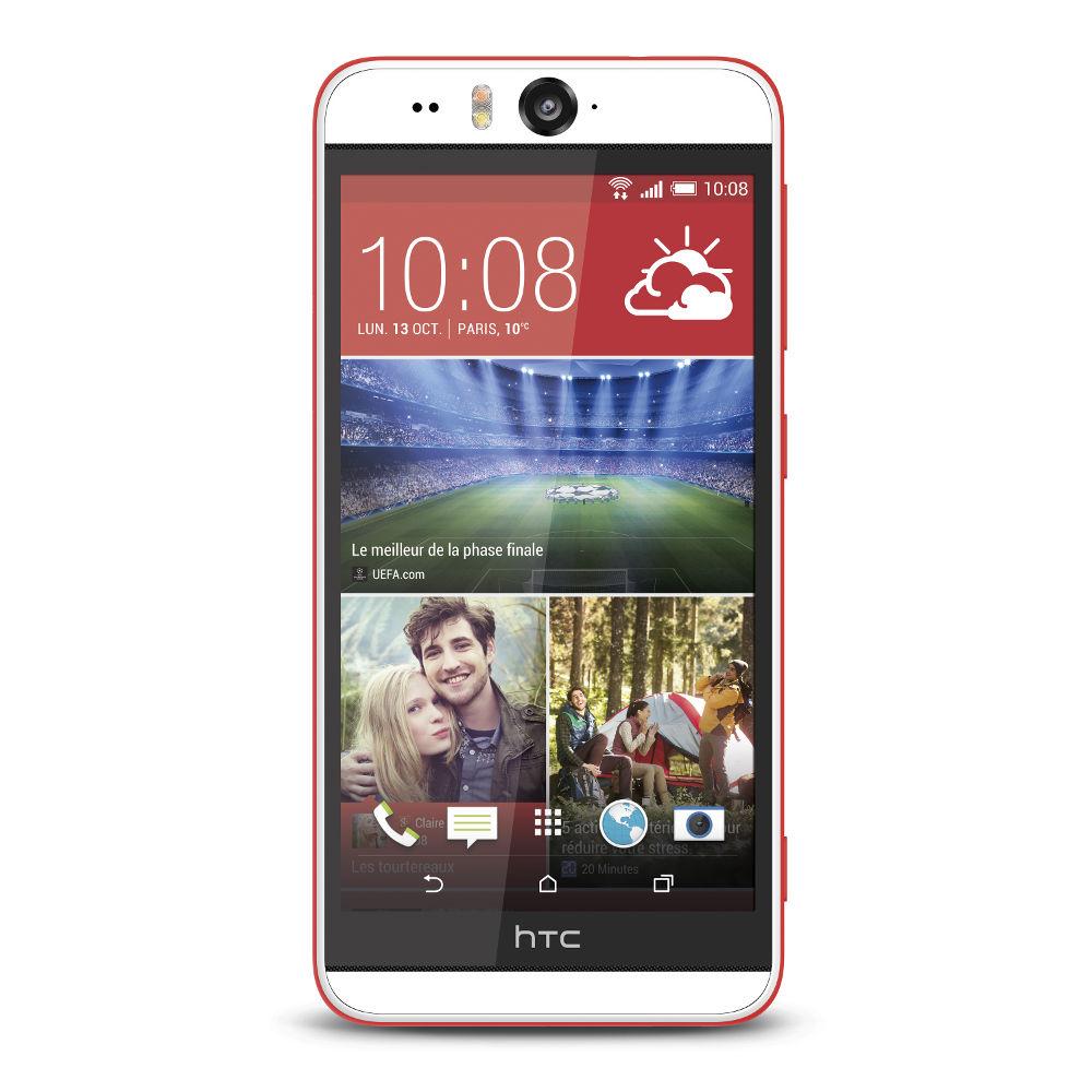Smartphone HTC Desire Eye Blanc/Rouge