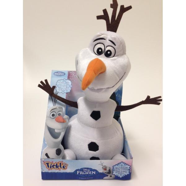Peluche interactive Disney Frozen Olaf - 35cm