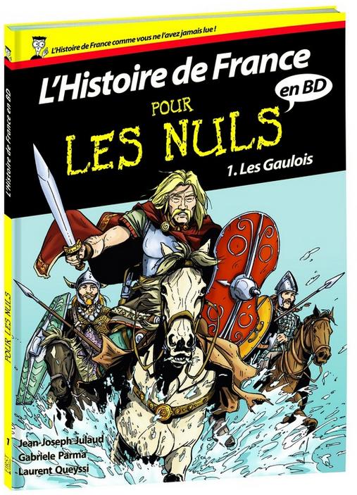 BD L'histoire de France Pour Les Nuls offerte pour l'achat d'un livre de la collection Pour Les Nuls