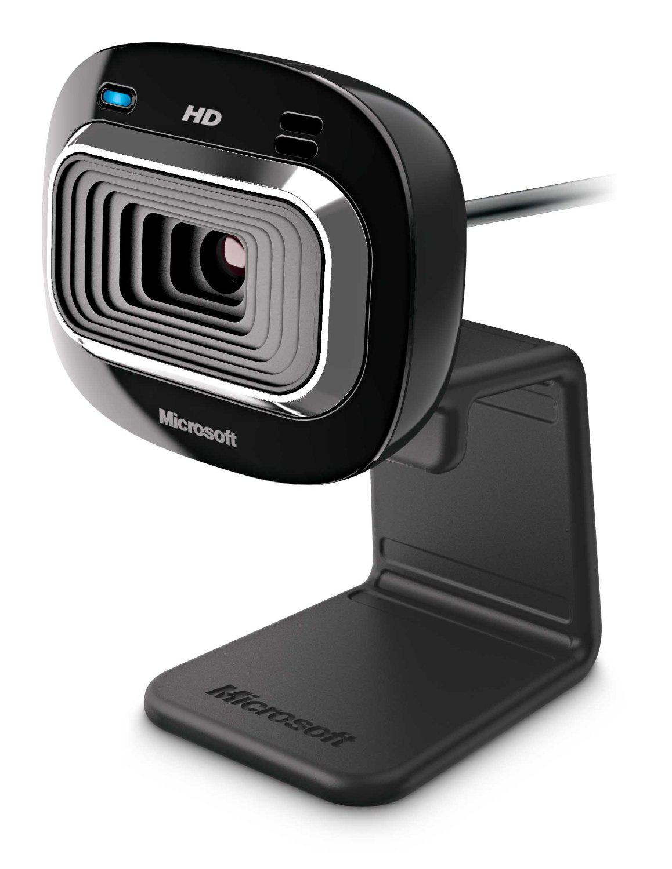 Webcam HD Microsoft LifeCam HD-3000 - Noir