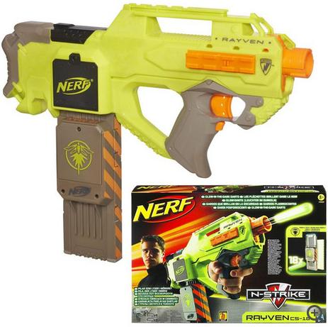 Sélection de jouets quasiment remboursé via la carte Waaoh - Ex : Pistolet Nerf Elite Rayven gratuit (avec 30€ sur carte)