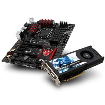 Processeur Intel 4690K + Carte Graphique MSI Gtx 970 Oc + Carte mère MSI Z97 Gaming 5 + Jeu Unity/Far Cry (ODR 52,5€)