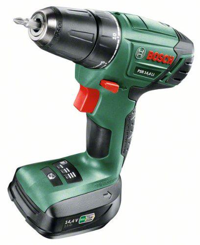 Perceuse visseuse sans fil Bosch PSR 14,4 LI avec coffret, batterie et chargeur