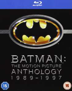 Coffret Blu-Ray Batman: The Motion Picture Anthology 1989-1997