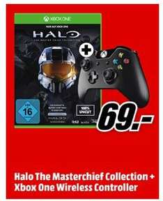 Jeu halo: master chief collection + manette xbox one Officielle