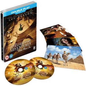 Blu ray/DVD : Les aventures extraordinaires d' Adèle Blanc-Sec - Version Steelbook (VF)