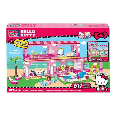 Megablocks Hello Kitty Centre de vacances (avec 50€ sur la carte waaoh)