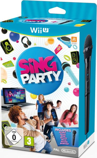 Sing Party (Microphone inclus) sur Wii U