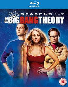 Coffret Blu-ray The Big Bang Theory - Saisons 1 à 7