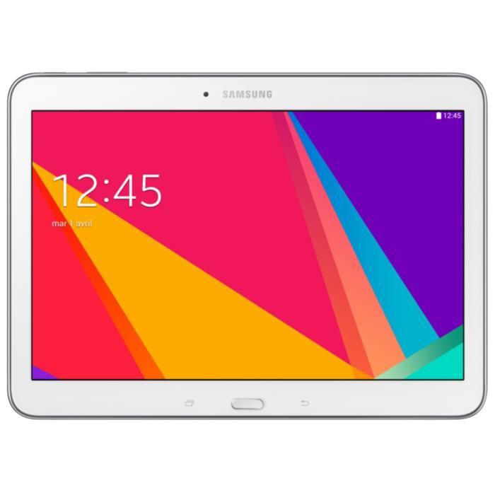 Tablette Samsung Galaxy Tab 4 10'' Blanche 16Go