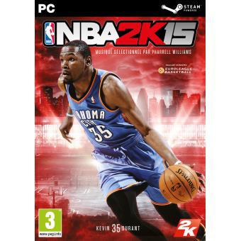 Jeu NBA 2K15 sur PC Version boite