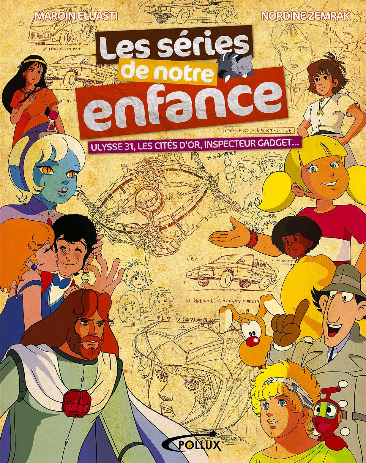 Livre Les séries de notre enfance
