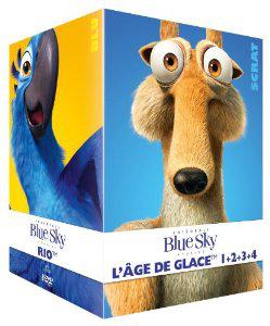Coffret DVD Blue Sky 8 Films (Epic, Horton, Robots, Rio, L'Age de glace 1 à 4)
