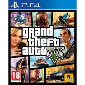 Jeu Grand Theft Auto V (GTA V) sur PS4