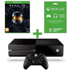Console XBOX One + Halo Master Chief Collection + Abonnement Live 12M