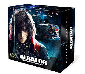 Coffret collector numéroté Albator, corsaire de l'espace - Blu-ray 3D + Blu-ray + DVD + Figurine & goodies