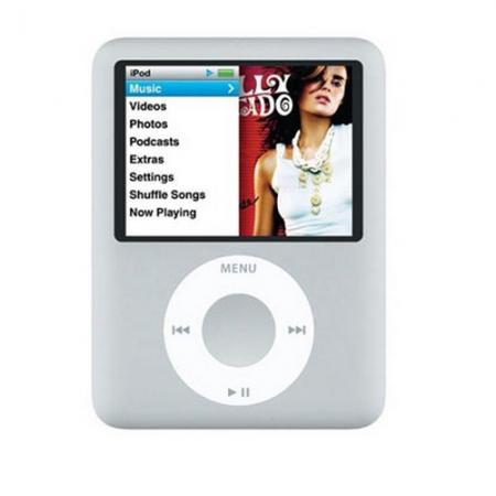 Baladeur MP3 Apple ipod Nano -  4Go Silver
