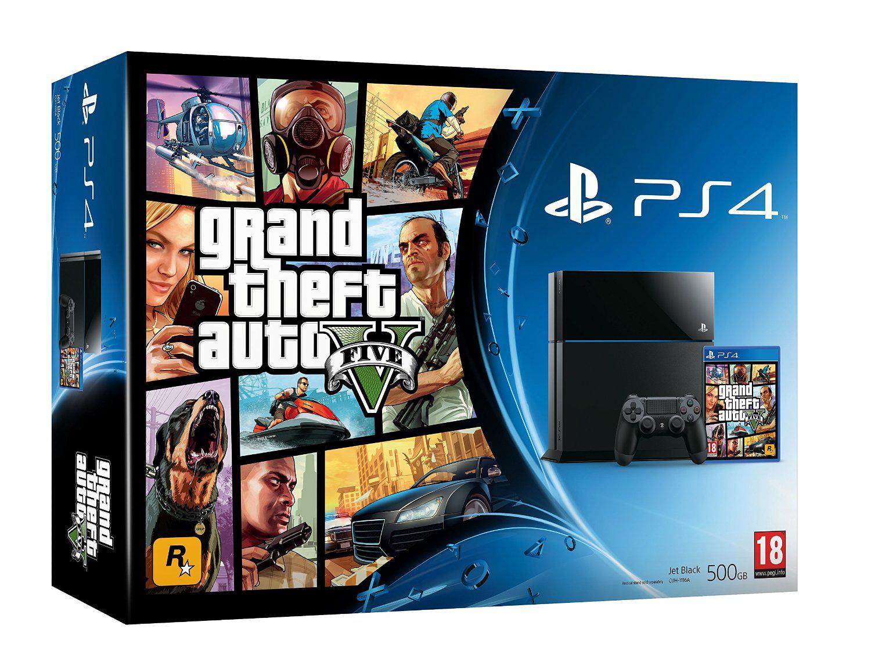 Console  Sony PS4 + GTA 5