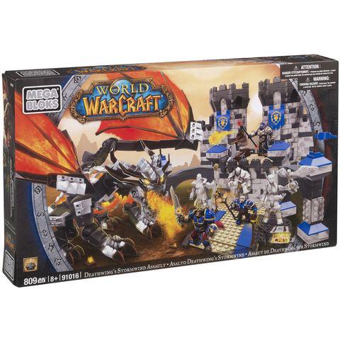 -50% sur la carte Waaoh sur les Megablocks World Of WarCraft - Ex : Megablocks Assaut de Deathwing sur Storwind (avec 20€ sur la carte)