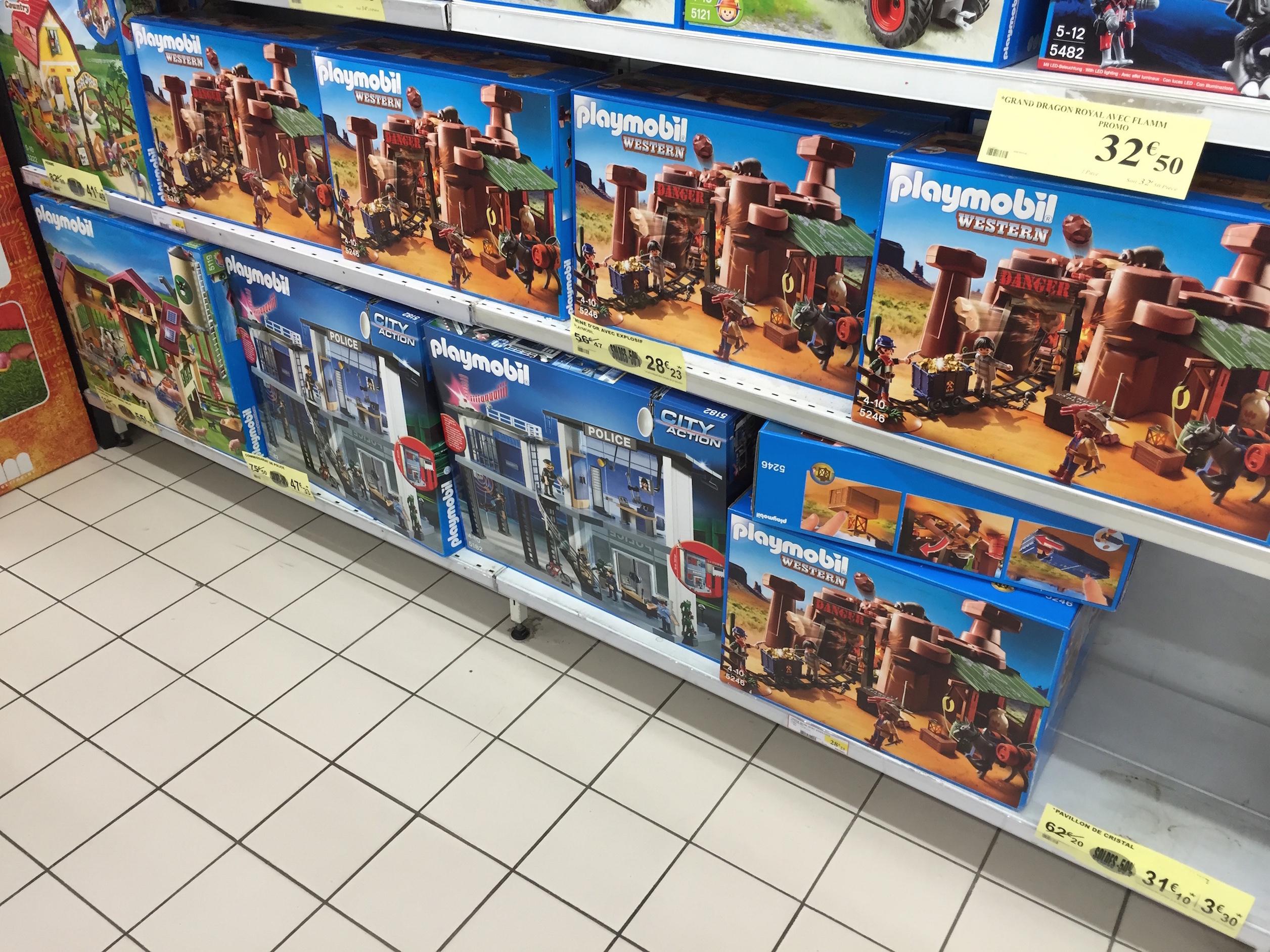 -50% sur une sélection de Playmobil - Ex: Mine d'or avec explosif