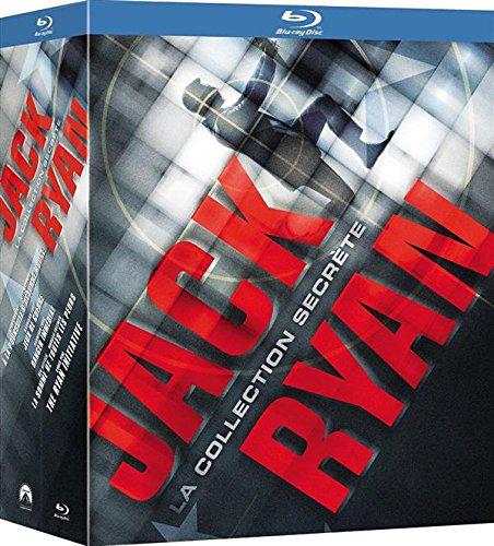 Coffret 5 Blu-rays Jack Ryan - La collection secrète