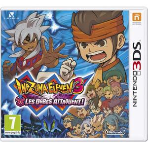 Inazuma Eleven 3 : Les ogres attaquent sur 3DS (avec 15€ sur la carte Carrefour)