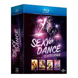 Coffret Blu-ray - Sexy Dance 1 à 4