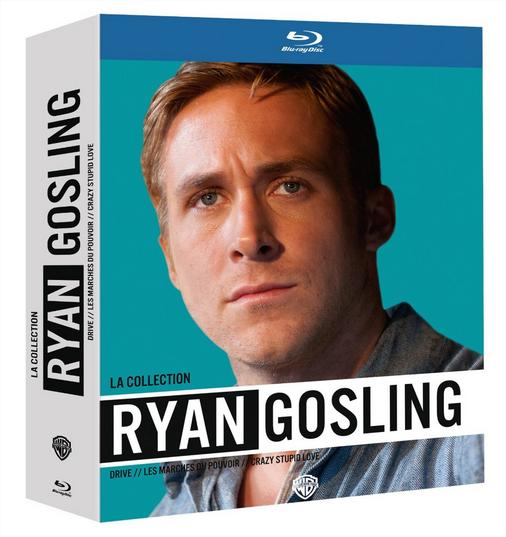 50% de réduction sur DVD, Blu-rays et coffrets - Ex: Coffret 3 blu-rays Ryan Gossling (Drive, Les marches du pouvoir et Crazy, Stupid Love)