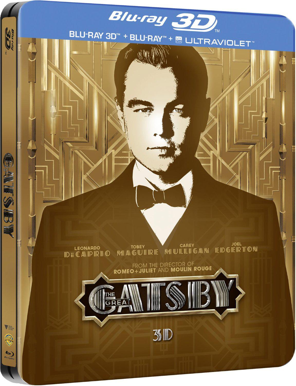 Blu-ray Steelbook 3D - Gatsby Le Magnifique