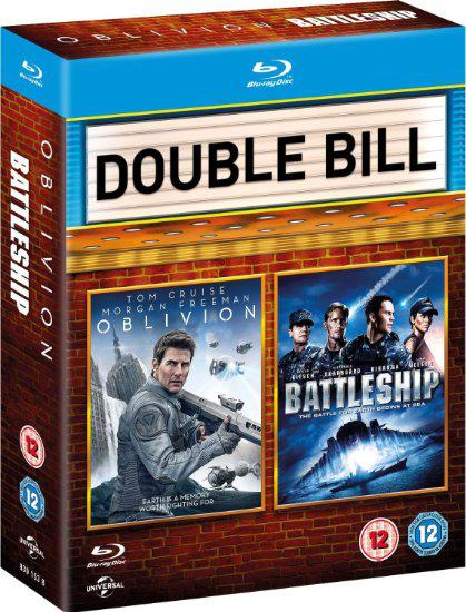 Coffret 2 Blu-ray - Oblivion / Battleship