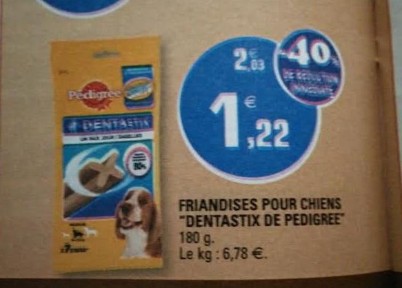 Friandises pour animaux Pedigree Dentastix