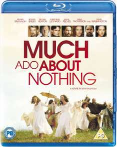 Blu-ray Beaucoup de bruit pour rien (Much Ado about nothing)