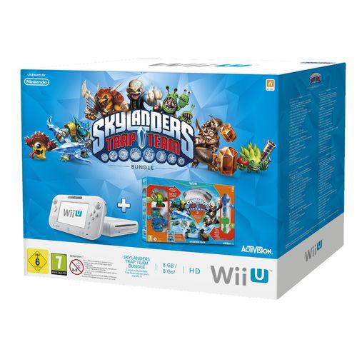 Console Wii U 8Go + Pack Starter Skylander Trap Team