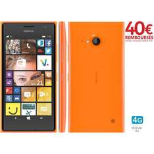 """Smartphone 4,7"""" 4G - Nokia Lumia 735 (Avec CB prépayé de 40€)"""