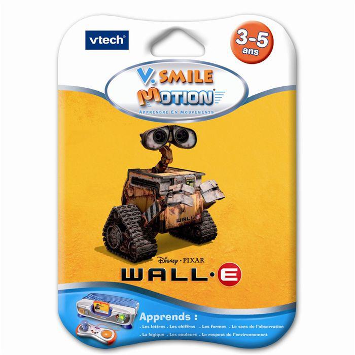 Jeu V.Smile Motion Wall.E Vtech