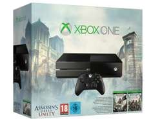 Console Microsoft Xbox One + Assasin's Creed Unity/Black Flag + GTA V