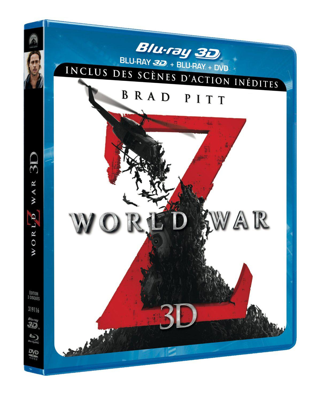 World War Z - Version longue inédite [Combo Blu-ray 3D + Blu-ray + DVD]