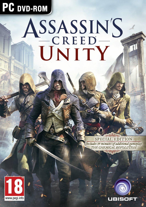Jeu PC Assassin's creed unity Edition Spéciale