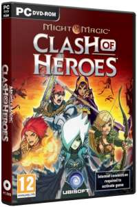 Might And Magic Clash of Heroes sur PC, version boite