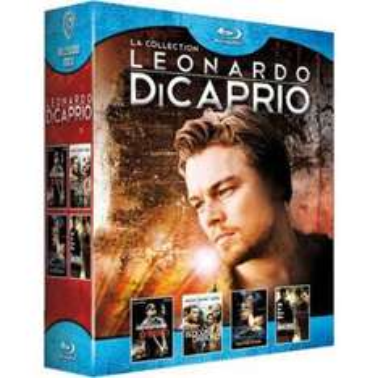 Coffret 4 Blu-Ray: Blood Diamond, Mensonges d'Etat, Les Inflitrés et Shutter Island - Edition Limitée