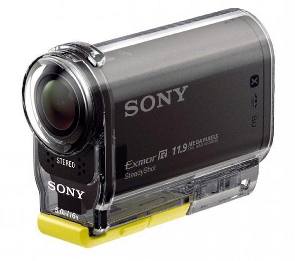 Pack Caméra sport Sony Action Cam HDR-AS30V + Montre de pilotage Sony RM-LVR1