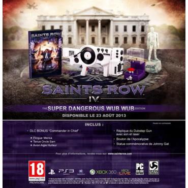 Saint Row IV : The Super Dangerous Wub Wub Edition sur XBOX 360